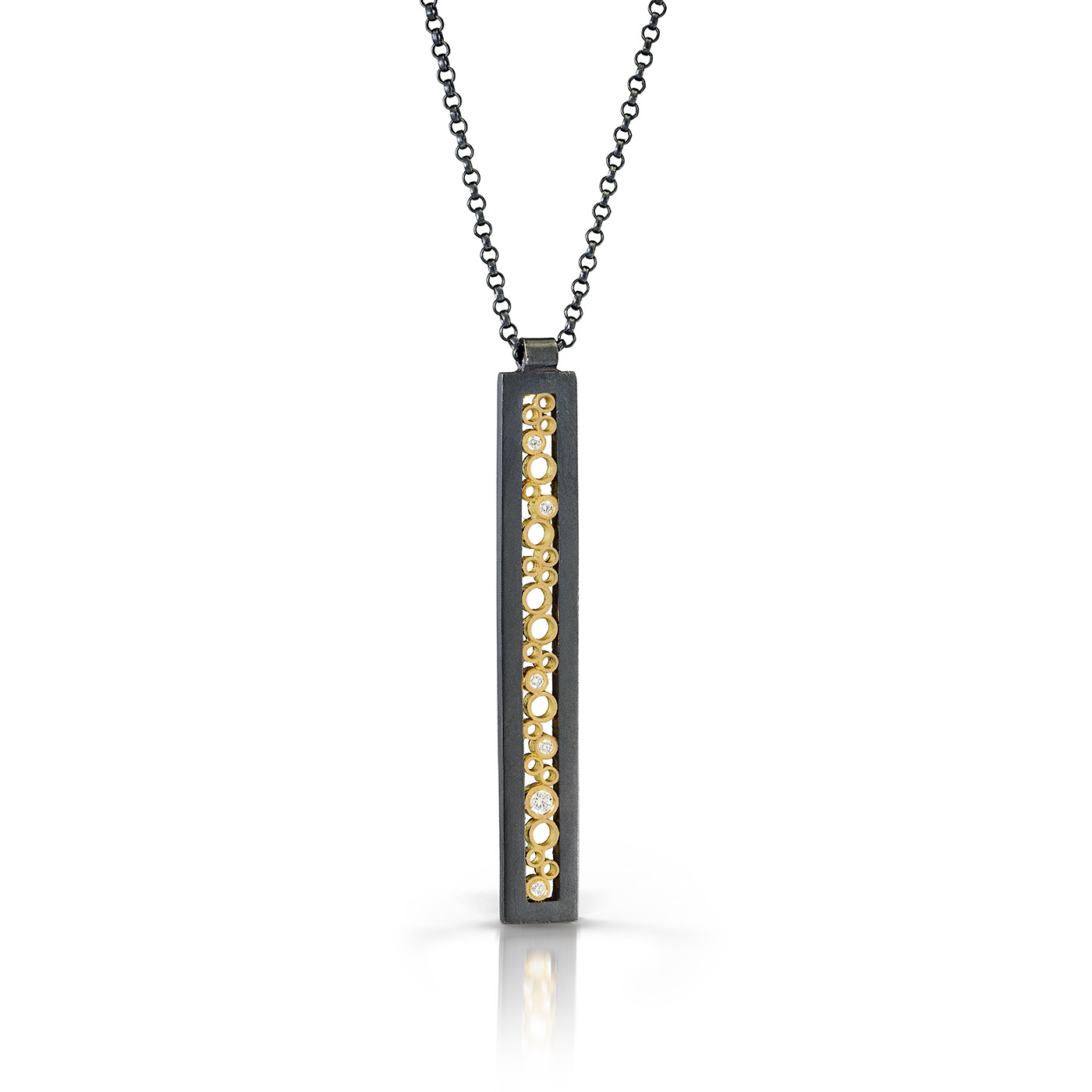 Oscuro extra long rectangle pendant belle brooke designs mozeypictures Gallery